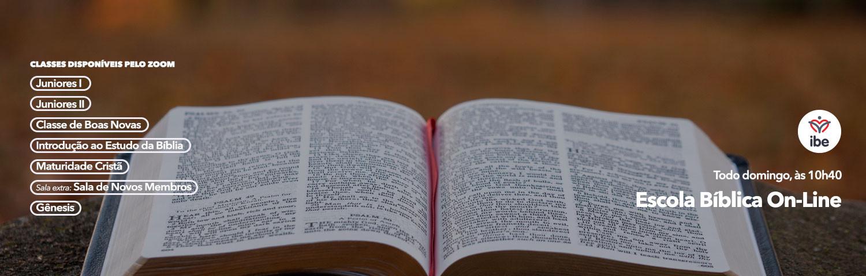 escola biblica on line