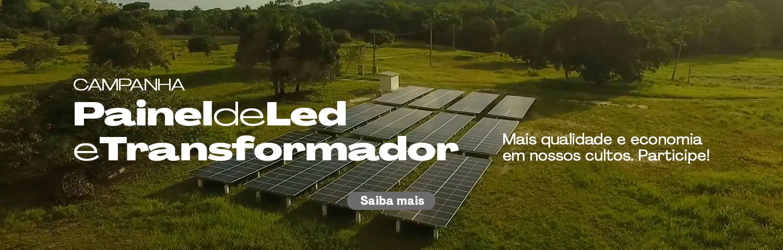 campanha painel de led