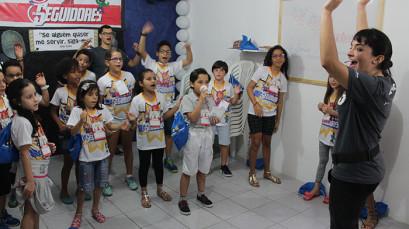 Inscrições para a Equipe do Congresso da Criança