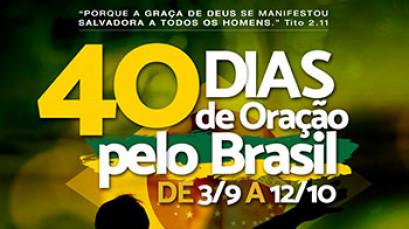 40 dias de oração pelo Brasil