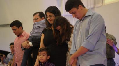 Culto de gratidão pela recuperação do Pr. Nelson Junior